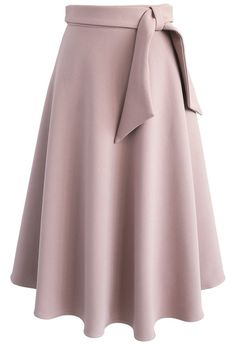 This Love in Vogue is a vision of love with its A-line silhouette, rosy brown hue and a sassy, self-tie sash along the waist.  - Self-tie sash on waist - Concealed back zip closure - Lined - 100% Polyester - Machine wash gently  Size (cm) Length Waist  XS         76     66   S          76     70 &nb...