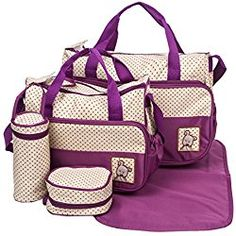6bb56c8ba0fa 31 Best Purple Diaper Bags images in 2017 | Changing mat ...