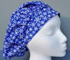 Your place to buy and sell all things handmade Scrub Hats, Color Change, Scrubs, Snowflakes, Cotton Fabric, Sewing, Handmade, Stuff To Buy, Fashion