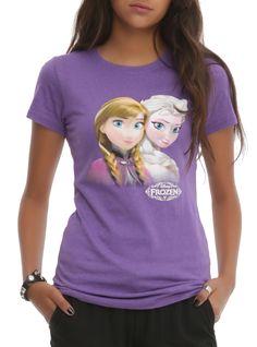 Disney Frozen Anna And Elsa Girls T-Shirt Pre-Order | Hot Topic