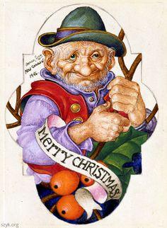 """Arthur Szyk   """"Christmas"""""""