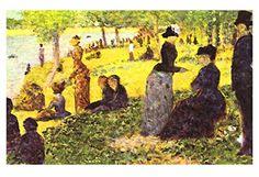 """Artdash® Decorative Fine Art Reproduction ~ """"La Grande Jatte"""" By Georges Seurat ArtDash® http://www.amazon.com/dp/B00TXFWOKC/ref=cm_sw_r_pi_dp_Oqo7ub0MM5PJZ"""