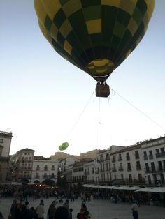 Plaza Mayor de Cáceres (España)