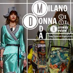Frugal Opulence: MFW SS17: Milano Moda Donna Runway Review Vol. 1