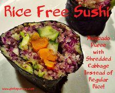 Pinks Pantry: Rice Free Sushi - Take 4!