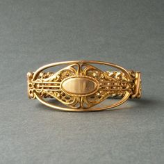 Art Nouveau Jewelry | Antique Art Nouveau Jewelry. Bracelet. Carmen Expansion. Early 1900s.