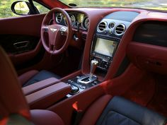 A beauty! Continental Cars, Bentley Continental Gt Speed, Private Jet Flights, Best Car Interior, Bentley Gt, Car Upholstery, Automotive Upholstery, Automotive Group, Vans