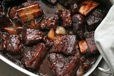 And I have to try something like this too, braised beef with a touch of chocolate. There are Spanish recipes which also use chocolate to create a rich sauce for beef. And there are Chinese recipes for long-cooked beef with star anise.
