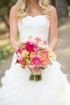 Garden rose bouquet by Inviting Occasion Rancho Las Lomas Brett Hickman Photographer