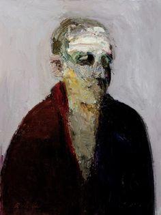 Dan McCaw, Head Dan McCaw (paintings, visual arts, plastic arts, fine arts)