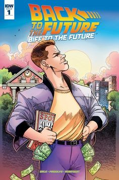 NEW SERIE !!! Back to the Future – Biff to the Future n°1 (25.01.2017) // When Old Biff Tannen travels to the past to give his younger self the Grays Sports Almanac, he opens a lethal Pandora's Box that drastically changes the course of history. In the BTTF movies, Doc and Marty save the day — but what happens in Biff Tannen's dystopia before they do? Find out in BIFF TO THE FUTURE #back #future #idw #publishing #comics