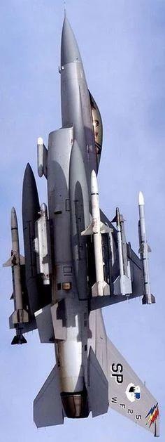 写真: F-16C SEAD AGM-88 HARM, AIM-120C, AIM-9L