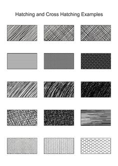 Cross/hatching examples | Pen and Ink Lessons | Artfactory.com