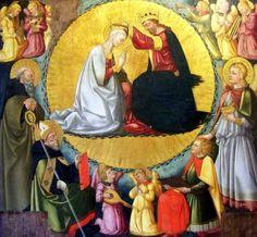 [Renaissance] Neri di Bicci, Le couronnement de la Vierge