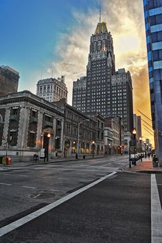 """Looking west toward the old """"mn"""" building. Anyone over 30 will remember when it was that. Baltimore Skyline, Baltimore City, Baltimore Maryland, Oh The Places You'll Go, Places To Visit, Big Town, Historical Photos, North America, New York Skyline"""