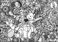 Winnie lourson ours et amis Design par byjamierose sur Etsy