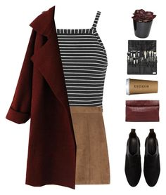 """Untitled #1833"" by tacoxcat ❤ liked on Polyvore featuring Topshop, Zara and Marie Turnor"