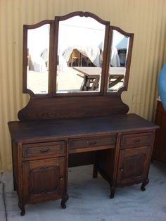 Country French Antique Vanity Dresser Antique Bedroom Furniture