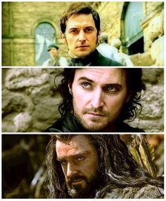 Richard Armitage as, Mr. Thornton, Sir Guy  & Thorin Oakenshield