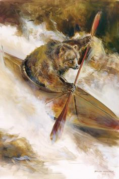Bear In Kayak « Mason Maloof Designs