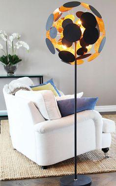 Golvlampor i snygg design - Köp med fri frakt Floor Lamp, Planets, By Rydéns, Flooring, Lighting, Design, Home Decor, Black, Decoration Home