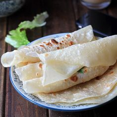 Chinese Mandarin Pancake--Moo Shu shells or Roasted duck shells.