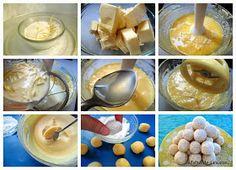 A falta de Lexatín... buenas son tortas: Trufas de limón y chocolate blanco Chocolate Blanco, Galo, Doughnut, Nutella, Red Velvet, Pudding, Breakfast, Desserts, Food