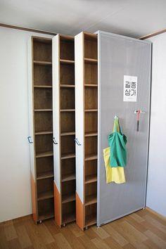 Bookshelf space problem solved.