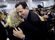 34 #prezpix #prezpixrs election 2012 candidate: Rick Santorum publication: abc news photographer: AP Photo publication date: 3/9/12