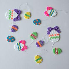 Easter eggs hama beads by galleripetz