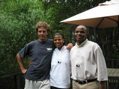 Warren, Thandi & Norman