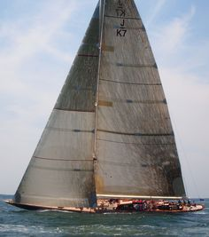 Velsheda / J Class Regatta. wouldn't mind being on that boat right now. via ACL.