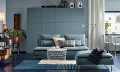 IKEA SODERHAMN canapés trois places modulable.