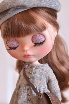 Hellen Artdoll OOAK Custom Blythe Doll by MaPoupeeCherie on Etsy