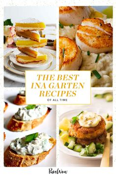 So put on your chambray button-down, grab a wooden spoon and whip up our 51 favorite Ina Garten recipes of all time. #Ina #Garten #recipes