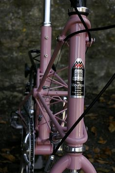 Pink Moulton TSR by moultonbuzz, via Flickr