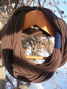 Infinity Scarf  Chocolate by sister9designs on Etsy