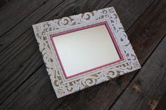 Vintage Mirror Pearl & Pink Victorian Design by DirtRoadJunkies, $34.95