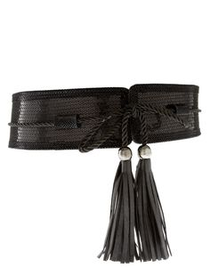 MUST DIY THIS!!!!  Home Decor section for tassle tieback.  Fashion Trim Section for leather belting & trim!!