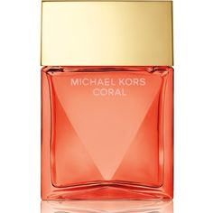 Michael Kors 'Coral' Eau de Parfum Spray (695 GTQ) ❤ liked on Polyvore featuring beauty products, fragrance, beauty, no color, blossom perfume, flower fragrance, spray perfume, edp perfume and michael kors