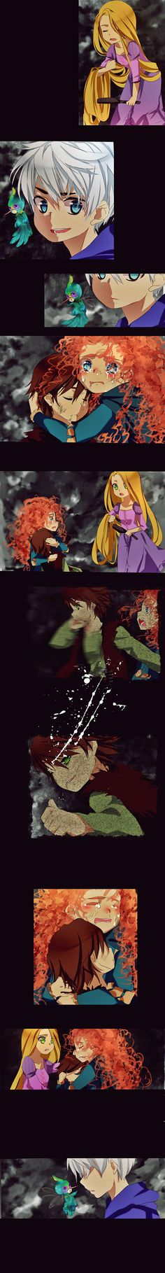 rotbtd comic 2 by ~temiji on deviantART. Poor Hiccup. Don't worry guys, he's not dead! Wake up Hiccup! :-/