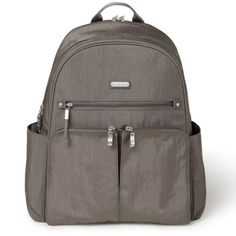 You can with this lightweight, water-resistant backpack with a padded pocket that holds up to a laptop. From baggallini. Backpack Straps, Backpack Purse, Nylons, Best Laptop Backpack, Laptop Camera, The New Classic, Camo Purse, Day Backpacks
