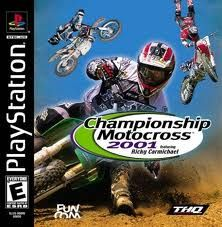 Championship Motocross 2001 Featuring Ricky Carmichael psx iso rom download