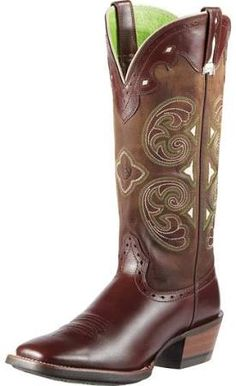 61ae19c2b8c2 women s cowboy boots ariat brown wide shaft - Google Search madrina Cowboy  Boots Women