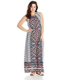 London Times Women's Plus-Size Floral Blouson Maxi Dress, Multi, 22 London Times http://www.amazon.com/dp/B00UN1103C/ref=cm_sw_r_pi_dp_3baawb1K368CR