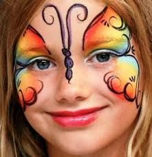 Image result for animal face painting zoo