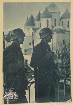 Militaria: FOTOGRAFÍA-POSTAL DIVISIÓN AZUL - Foto 1 - 50467533