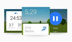 Runtastic Android Watch App