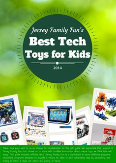 Jersey Family Fun's gift guide of the best tech toys for kids including STEM toys, tablets, video games, and more.