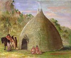 karankawa dwelling.